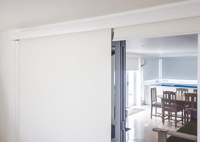 Block Out Rollers with linea valance